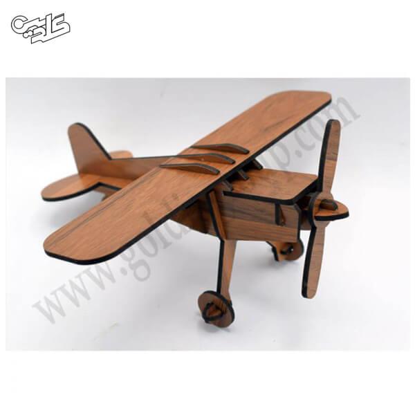 پازل چوبی هواپیما ویلسون