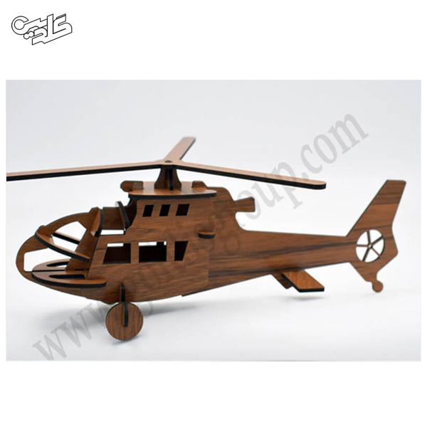 پازل چوبی هلیکوپتر ویلسون