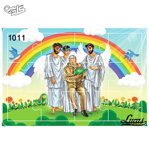 پازل چوبی 12 تکه کد 1011
