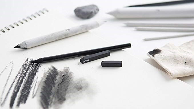 ذغال و گرافیک طراحی
